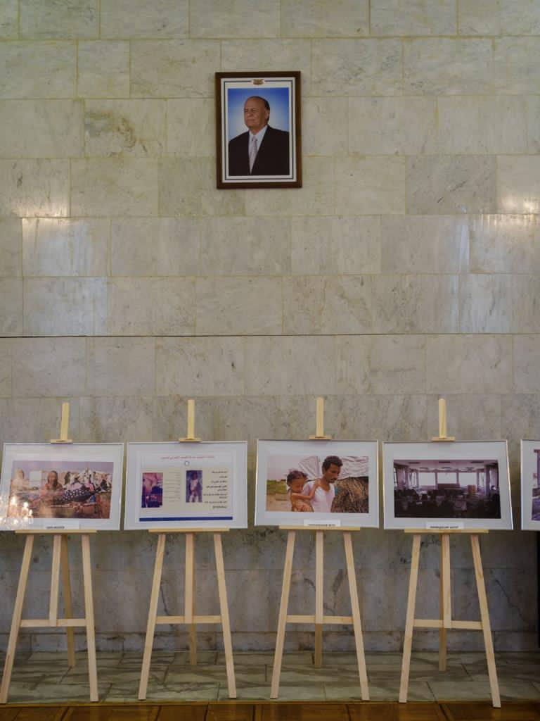 بالصور.. سفارة اليمن بموسكو تفتتح معرضا فوتوغرافيا للأزمة الإنسانية باليمن