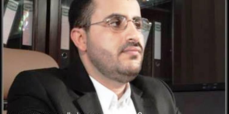 محمد عبدالسلام الناطق الرسمي باسم زعيم الحوثيين