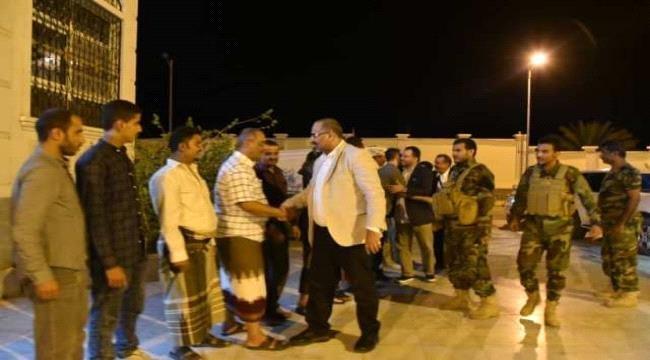 عودة رئيسا الانتقالي الجنوبي والجمعية الوطنية الجنوبية وقادة بالمجلس إلى عدن