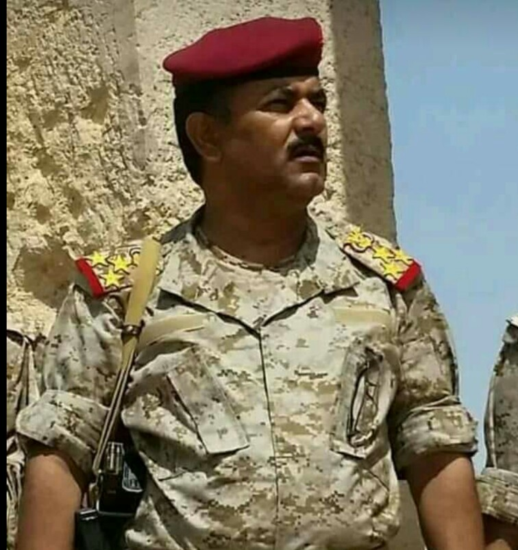 السيرة الذاتية المفصلة لمساعد قائد العمليات المشتركة للجيش اليمني(صور)