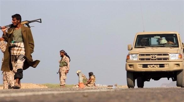 صورة ارشيفية لعناصر من قوات الحزام الأمني في أبين جنوب اليمن
