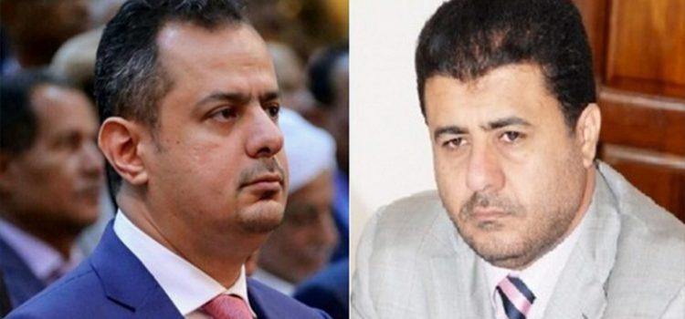 صحفي يكشف أهم أسباب الحرب الإعلامية المستعرة بين التاجر العيسي ورئيس الحكومة اليمنية