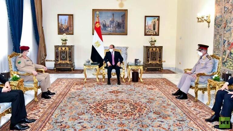 وزير يمني يلتقي الرئيس المصري ويطلب تدخل بلاده لإنهاء الأزمة الإنسانية باليمن