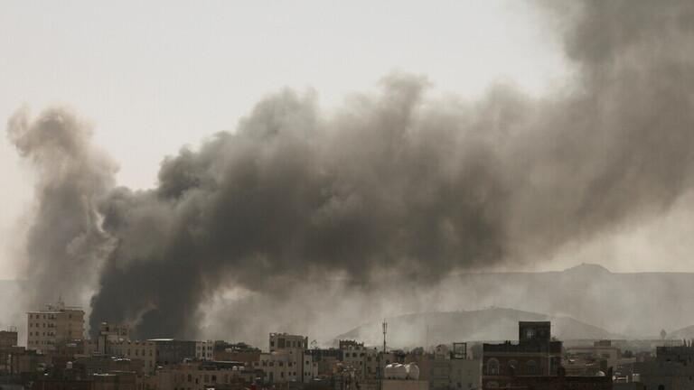 رويترز:التحالف بقيادة السعودية يقصف عدد من المواقع العسكرية للحوثيين بصنعاء