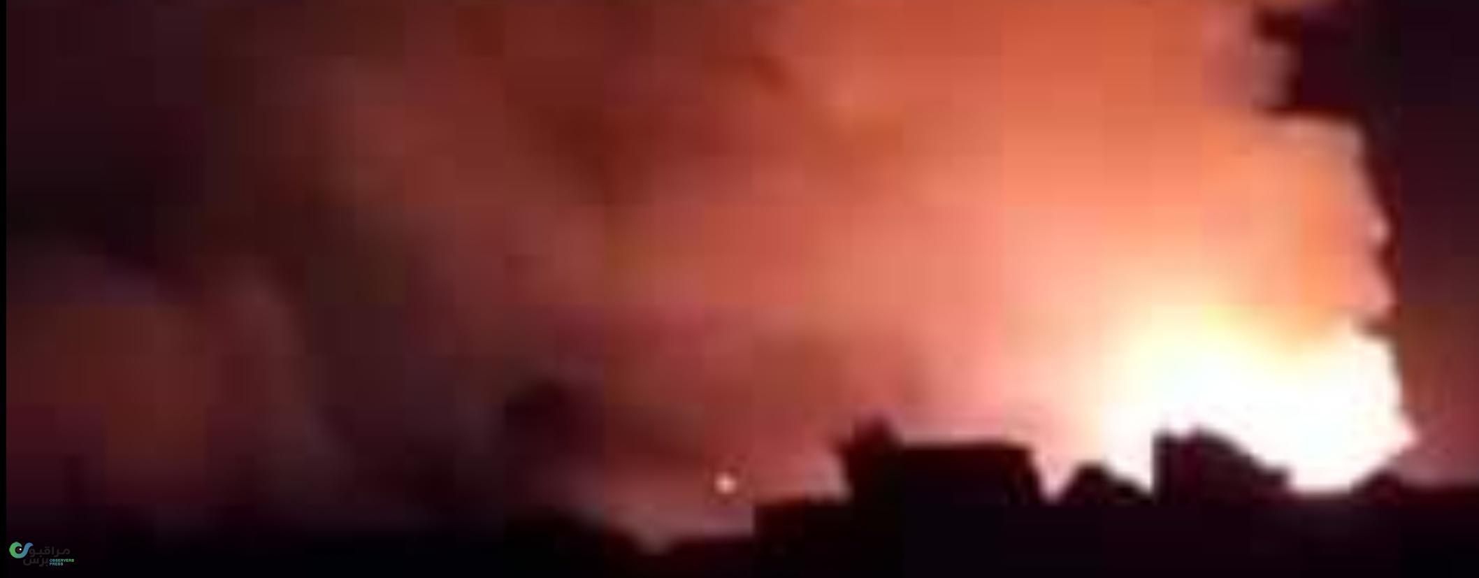 انفجارات مرعبة تهز صنعاء والتحالف يوضح طبيعة الأهداف المستهدفة(فيديو وصور )